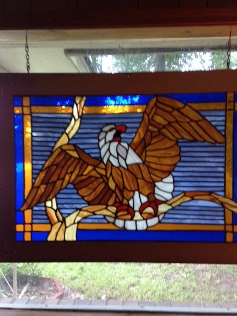 53 Best Images About Stain Glass Birds Eagles On