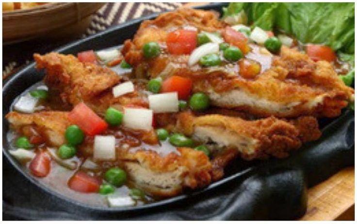 Resep Bistik Ayam Lapis Telur | Resep Pilihan