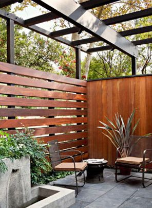 Screen + fence
