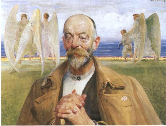 Jacek Malczewski - Tobiasz of the Portrait of Ligęza