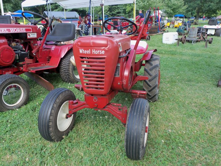 Wheel Horse Tractor Engines : Wheel horse parts list tractor engine and wiring