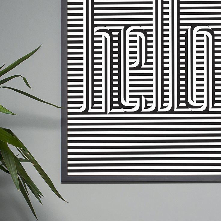 Print designed by Steven Wilson for Strut and Fibre's Ambassador Collection.