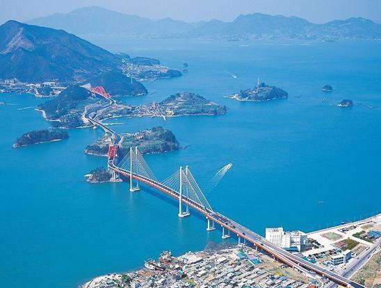 Samcheonpo Bridge, Korea