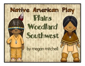 This packet provides three different mini plays for the Plains, Woodland, and Southwest Native American Tribes.  directions, costume ideas, 5 different original songs all included.