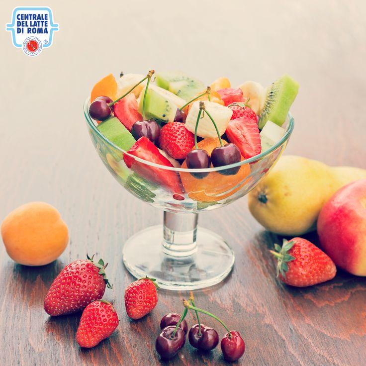 Una bella #macedonia di frutta fresca è proprio quello che ci vuole! *** Fruit salad #HealthyFood