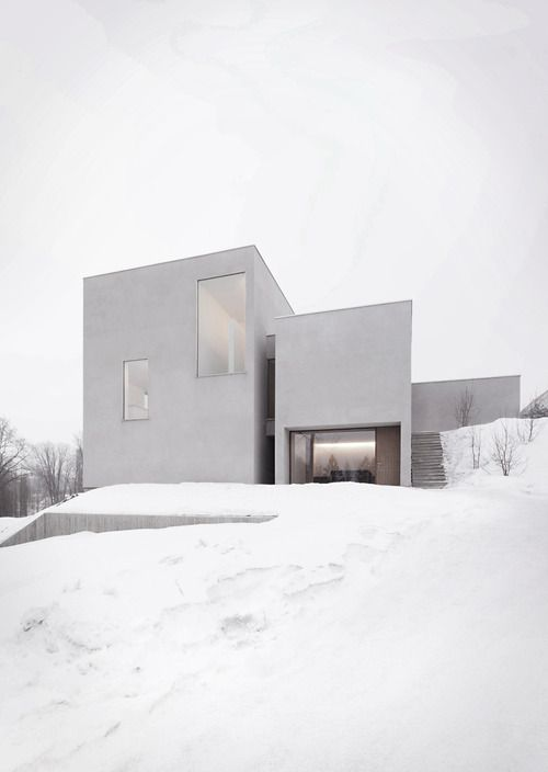 #architecture #white #snow
