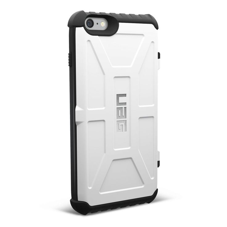 UAG iPhone 6 Plus / iPhone 6s Plus Trooper Card Case WHITE Military Drop Tested #URBANARMORGEAR