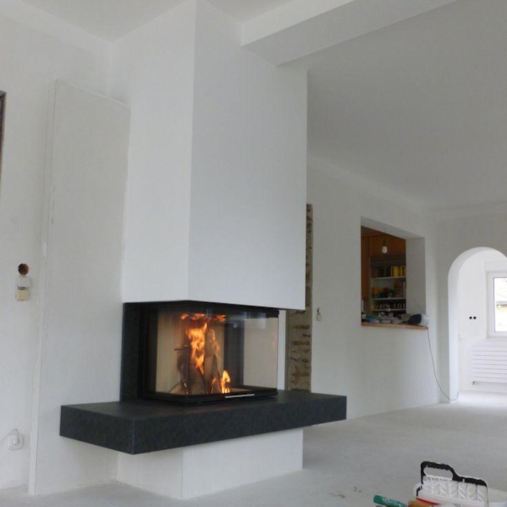 Produktfoto des Kamin Naturstein-Kamin-Modern von Hausmarke&Andere