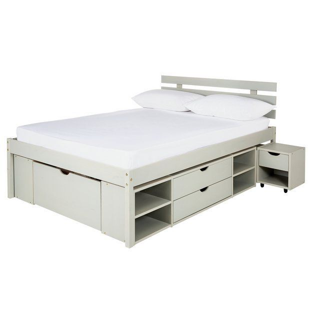 Buy Argos Home Ultimate Storage Grey Small Double Bed Frame At Argos Thousands Of Products For Same Day Delivery 3 95 Or Fast Store C Bedroom Set In 2019 Small Double