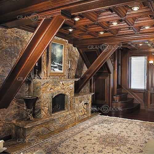 Деревянный потолок Боттичелли | grandecor.ru