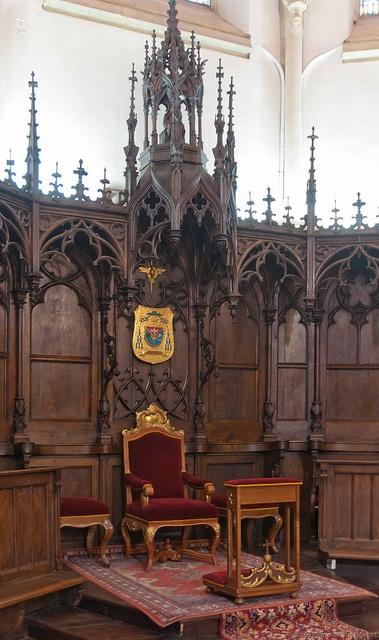 Bishop's Throne, Cathedral, Tarnów, Poland
