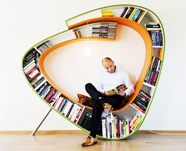 Modern Bookshelf Design top 25+ best cool bookshelves ideas on pinterest | creative