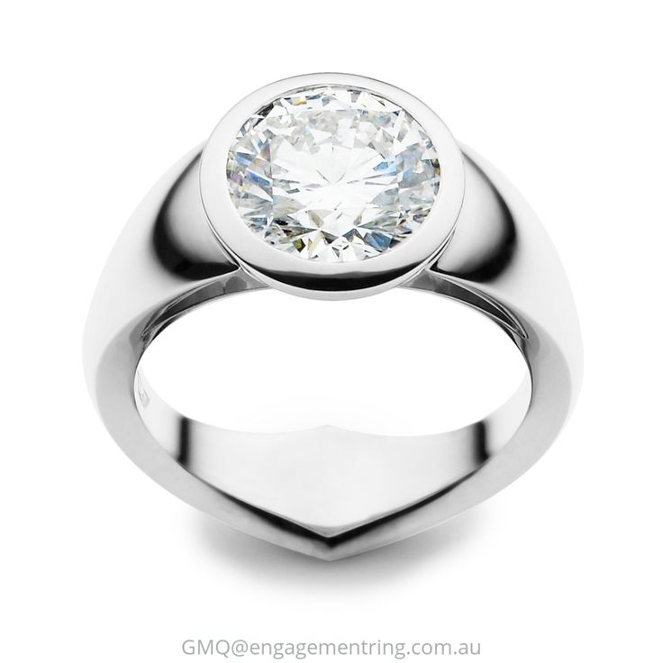 Stunning contemporary diamond engagement rings by GMQ@engagementring.com.au