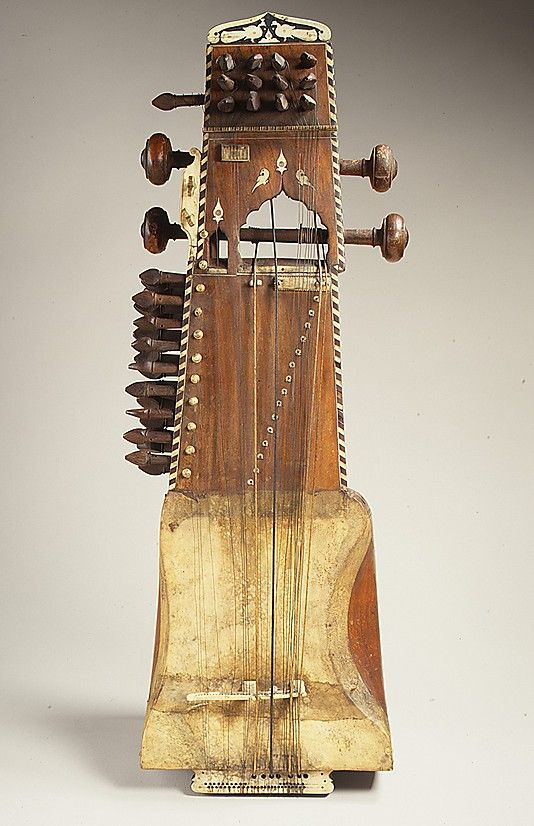 Sarangi. Date: ca. 1900 Geography: India Medium: Wood, ivory, parchment, metal. A beautiful full sound and a close proximity to the melodic flexibility of the human voice make the sarangi the most important bowed instrument of classical Hindustani music of northern India and Pakistan.