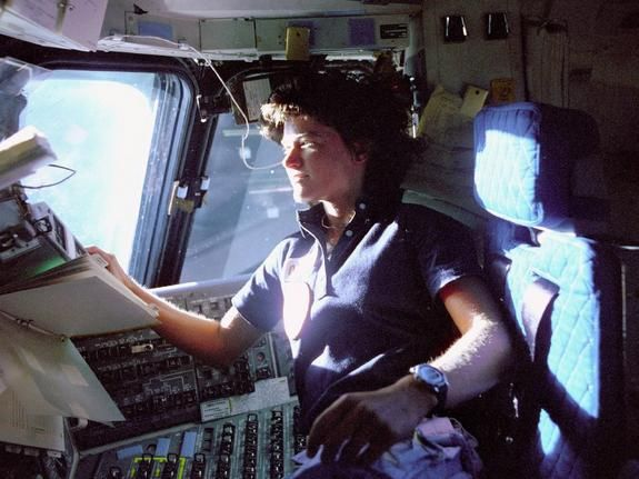 Sally Ride, First American Woman in Space: Spaces Shuttle, Little Girls, Heroes, Pilots, American Woman, Chairs, Sally Riding, Astronaut Sally, Young Girls
