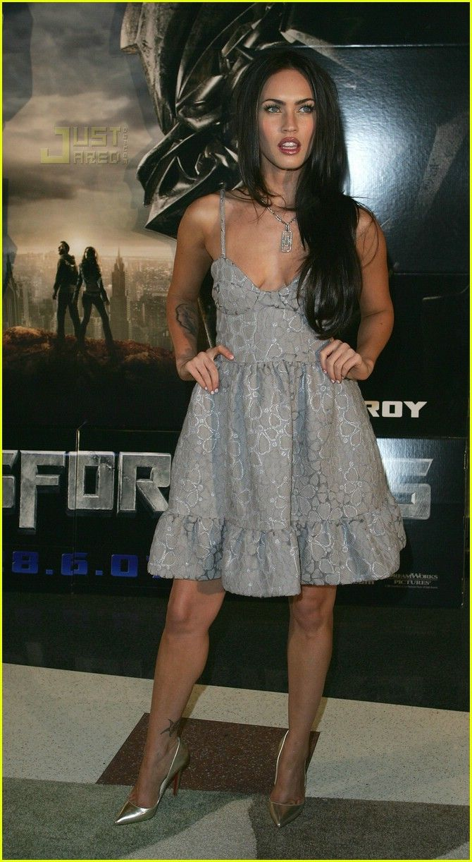 "Megan Fox at ""Transformers"" premiere in Sydney, 2007"