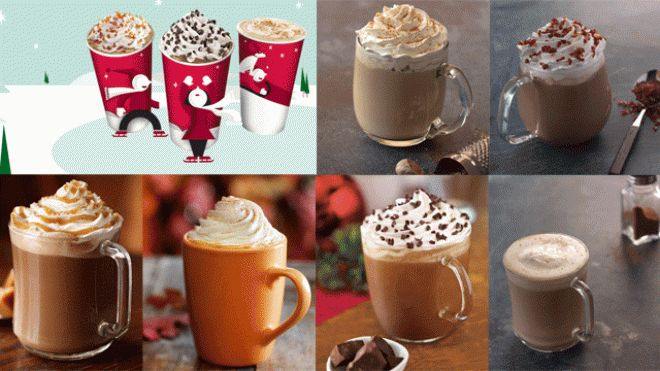 Starbucks' Seasonal Drink Recipes