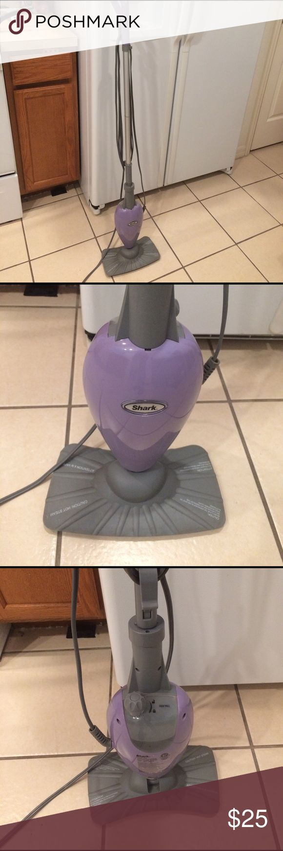 Shark steam mop Shark steam mop! Used. Works fine. I use micro fiber clothes to mop with it. Bought a newer version. shark Other