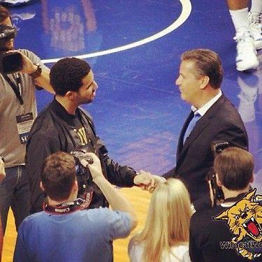 Drake Graduating High School & Coaching UK Wildcats (Photos/Video)
