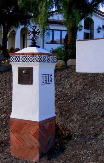 Spanish Colonial Revival Mailbox