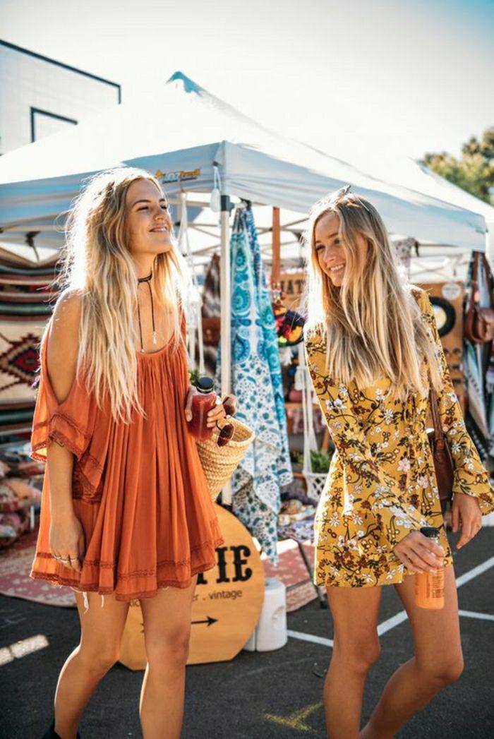 1001 id es pour la tenue hippie chic qui aider se sentir libre festival de musique hippie - Tenue hippie chic ...
