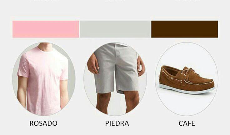 Buenos días hoy quiero compartirles  séptimo look de #domingo la siguiente combinación de color #rosado#pink #piedra #stone #cafe #brown #felizfomingo recuerda #vivelamodacongusto con #juanvanegas