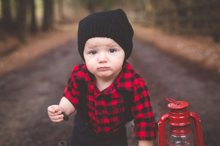 Baby Lumberjack Outfit