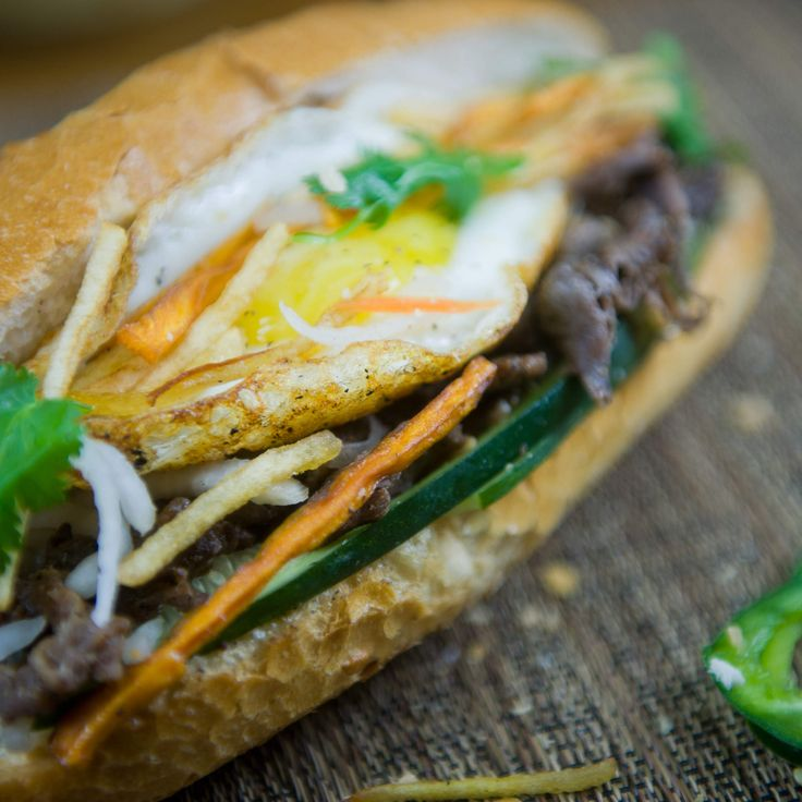 The best banh mi in Chicago. Pinned by #CarltonInnMidway - www.carltoninnmidway.com