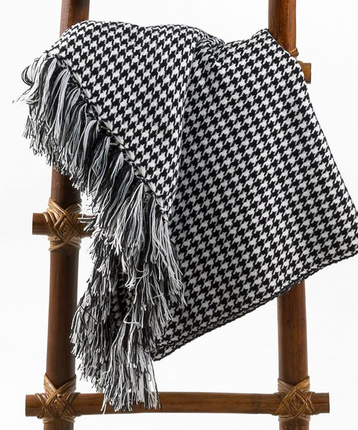 40 Best Houndstooth Images On Pinterest Houndstooth Roll Tide And Interesting Black And White Houndstooth Throw Blanket