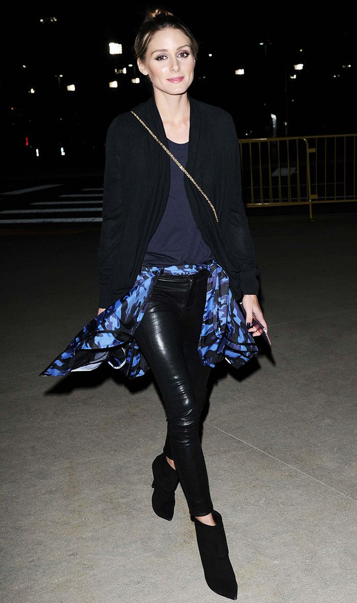 From leather pants to her go-to flats to, these are the pieces Olivia Palermo wears on repeat.