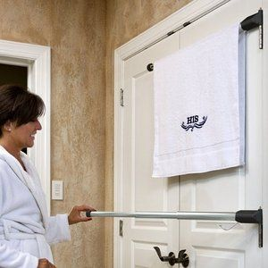 Hinge N Hang: The Perfect Towel Rack