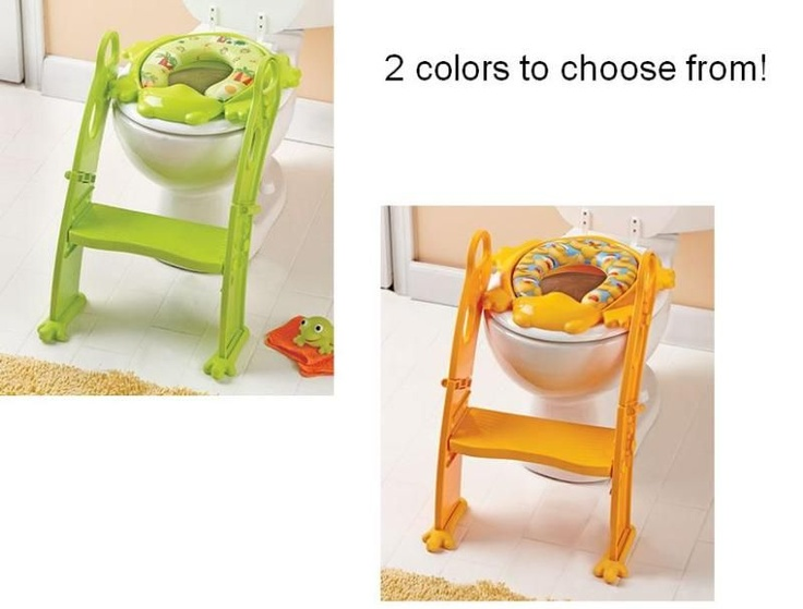 Step UP Potty Training Seat w/ Stair toilet trainer