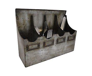 Настенный держатель столовых приборов - цинк
