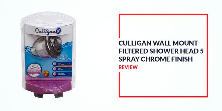 culligan wall mount filtered showerhead gives you the opportunity to enjoy five spray setting. Black Bedroom Furniture Sets. Home Design Ideas