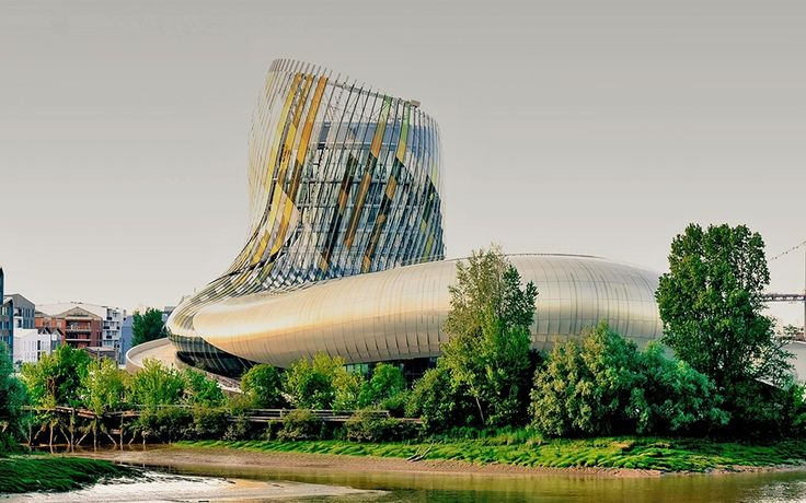 "The world's first wine theme park called ""La Cité du Vin"" in #Bordeaux, #France."