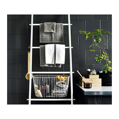 SPRUTT Håndklædestang  - IKEA  Maybe for the shower? We could have a bunch of baskets hanging from each bar to keep soap and stuff in.