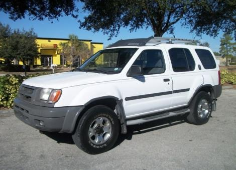 Used Nissan Xterra SE year 2000 for sale in Florida for only $4900