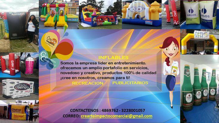 CREARTE IMPACT🤩 PUBLICIDAD Y EVENTOS. -INFLABLES #inflables #recreacion #publicidad Venta y alquiler, publicitario o infantil, ofreciendo una buena calidad, diseños exclusivos.🦋🤗