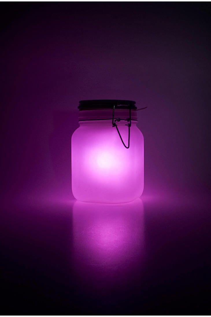 you could get some jars at the dollar store and frost paint the inside and put battery lights in them and hang them