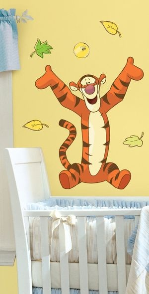 Roommates - Tigerdyret - Mega Wallstickers (RMK1500GM) /Legetøj cover