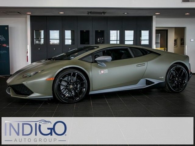 Awesome Amazing 2017 Lamborghini LP610-4 Huracan Avio Coupe 2017 Lamborghini LP610-4 Huracan Avio Coupe 267 Miles Verde Turbine 2D Coupe V10 2018