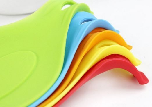 NEW! Silicone Spoon Rest - Multi Colours Available!