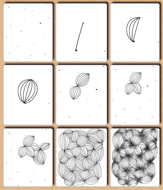 Garlic - Fru Billedkunst - glimt fra min billedkunstundervisning: Op art