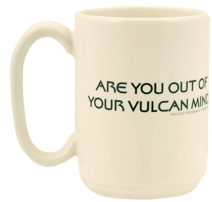 the office star mug. vulcan coffee mug the office star