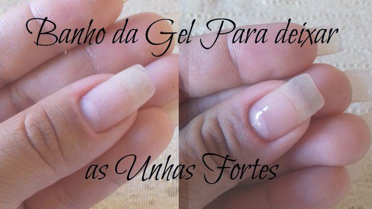 banho de gel para fortalecer as unhas - Por Luciana Silva