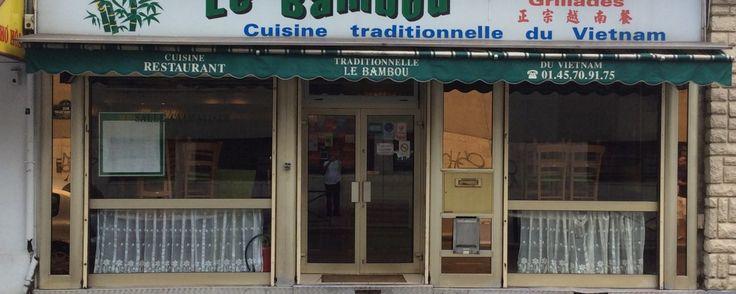 Le Bambou -  restaurant vietnamien 70, rue Baudricourt  75013 PARIS  Métro: Olympiades