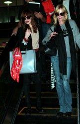 Dakota Johnson Life: HQ Pictures of Dakota and Melanie arriving in LA yesterday [October 19, 2014]