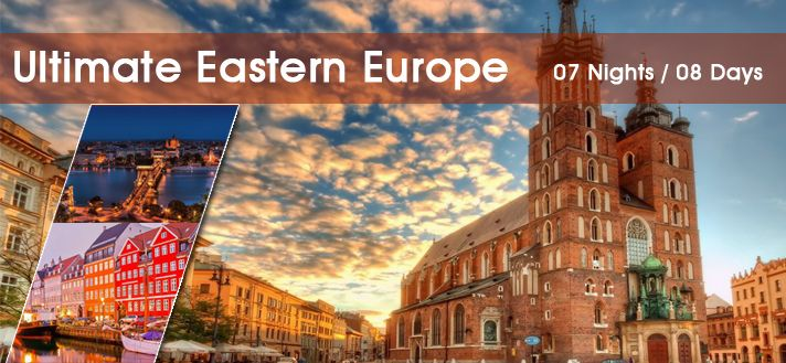 #EuropeGroupTours offers #CustomizedHoliday #TourPackages for #EasternEurope 2015 from #Delhi #India.