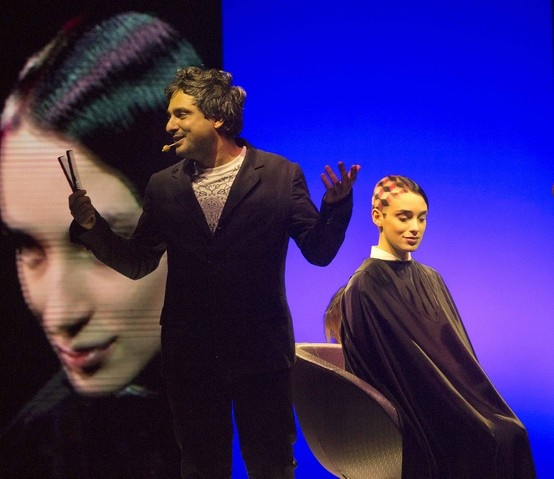 More of Angelo Seminara on-stage at Cosmoprof 2013! Check out all of Angelo's gallery pinboards here on our Pinterest!