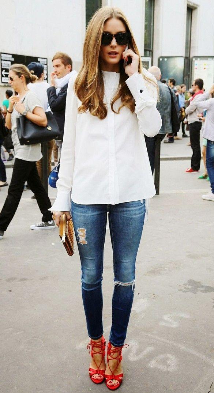 Samedi matin découvrez mes 8 looks favoris trouvés sur Pinterest dans un article publié sur cakeandcie.com à 10h #OliviaPalermo #FashionInspo